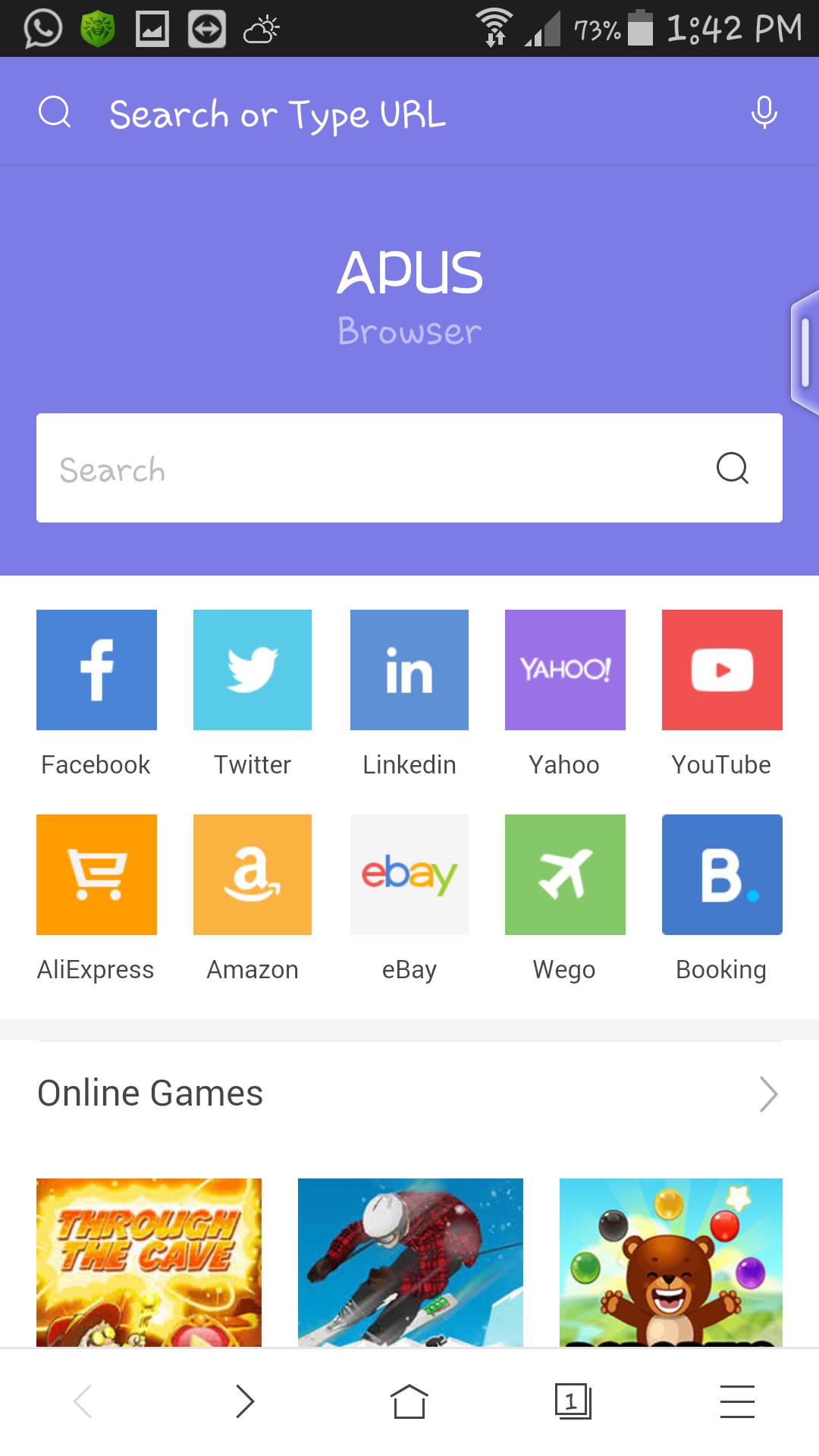 مرورگرA5مرورگر  Apus browser